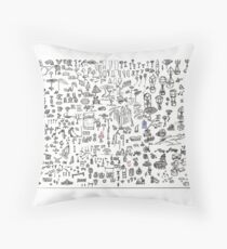 Brainstorming 5-26-2013 - 6-4-2013 Throw Pillow
