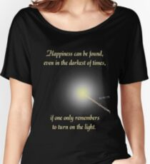 HP happiness quote Women's Relaxed Fit T-Shirt