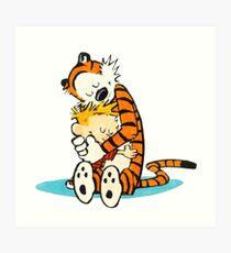 Calvin Hobbes Art Print