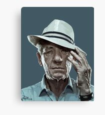 sir ian mckellen Canvas Print