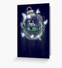 Hollow Weihnachtsritter Grußkarte