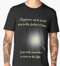 HP happiness quote Men's Premium T-Shirt