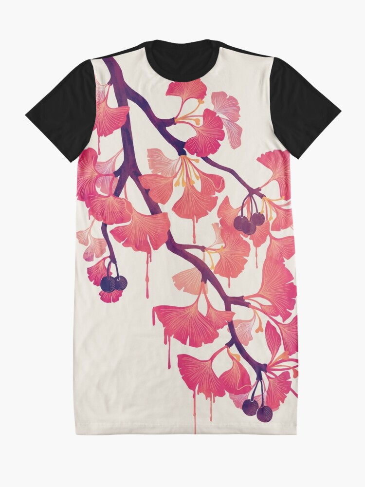 Alternate view of O Ginkgo Graphic T-Shirt Dress