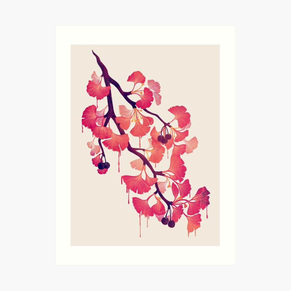 O Ginkgo Art Print