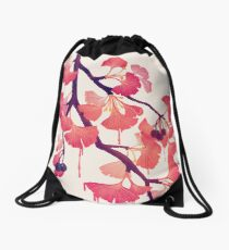 O Ginkgo Drawstring Bag