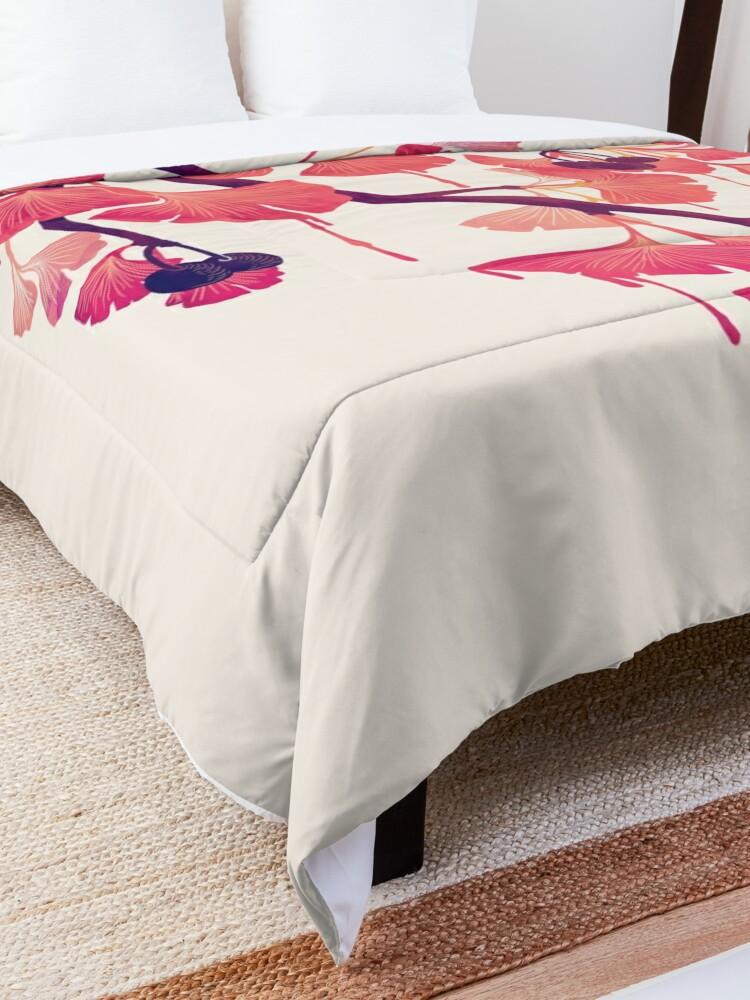 Alternate view of O Ginkgo Comforter