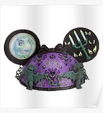 Haunted mansion ear hat ornament  Poster