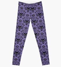 Haunted Villa Wallpaper drucken Leggings