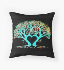 Tree of Colours Floor Pillow