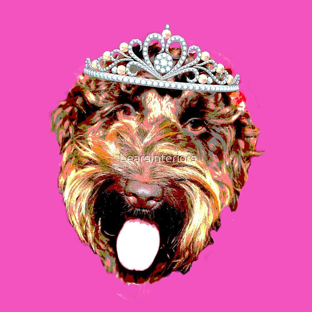 Cockapoo Princess (Pink) by LearsInteriors