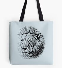 Big Male Lion - African Wildlife Tote Bag