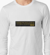 Vintage Toys Logo in STAR WARS style Long Sleeve T-Shirt