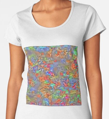 Sinking into deep thought Premium Scoop T-Shirt