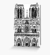 Tarjeta de felicitación Notre Dame