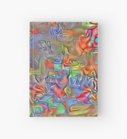 Sinking into deep thought Hardcover Journal
