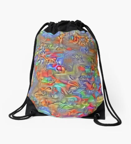 Sinking into deep thought Drawstring Bag
