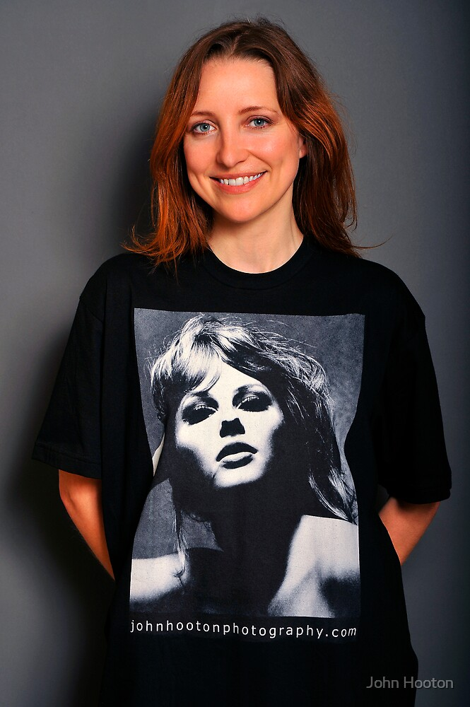 Kai-Marie Williams in Retro Liz T-Shirt by John Hooton