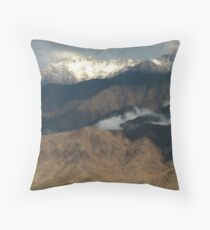 Out My Back Door...The Virgin Mountains Throw Pillow