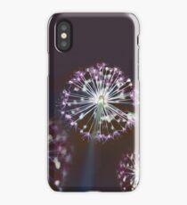 Floral Fireworks. Dark Floral iPhone Case/Skin