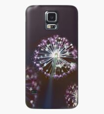 Floral Fireworks. Dark Floral Case/Skin for Samsung Galaxy