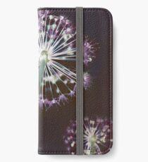 Vinilo o funda para iPhone Fuegos artificiales florales. Floral oscuro