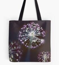 Floral Fireworks. Dark Floral Tote Bag