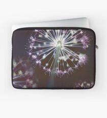 Floral Fireworks. Dark Floral Laptop Sleeve