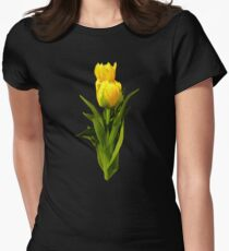 Yellow Tulips Tall and Short T-Shirt