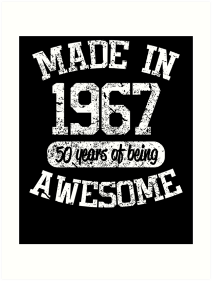 1967 Birthday Shirt