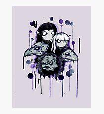 The Purple Shard Photographic Print