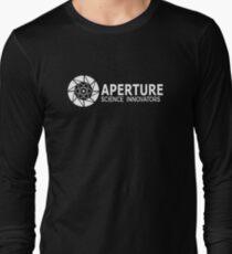 Aperture Science innovators Long Sleeve T-Shirt