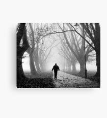 Foggy Path I Canvas Print