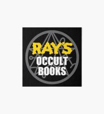 Ray's Occult Books Art Board
