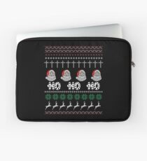 HO HO HO CHRISTMAS Laptop Sleeve