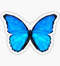 Low Polygon - The Butterfly Effect Sticker