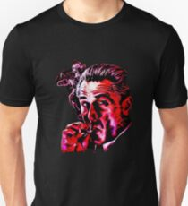 Robert De Niro Rauchen Mafia Gangster Film Goodfellas Malerei Slim Fit T-Shirt