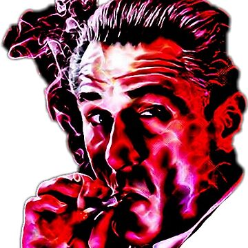 Robert De Niro smoking mafia gangster movie Goodfellas painting by xsdni999