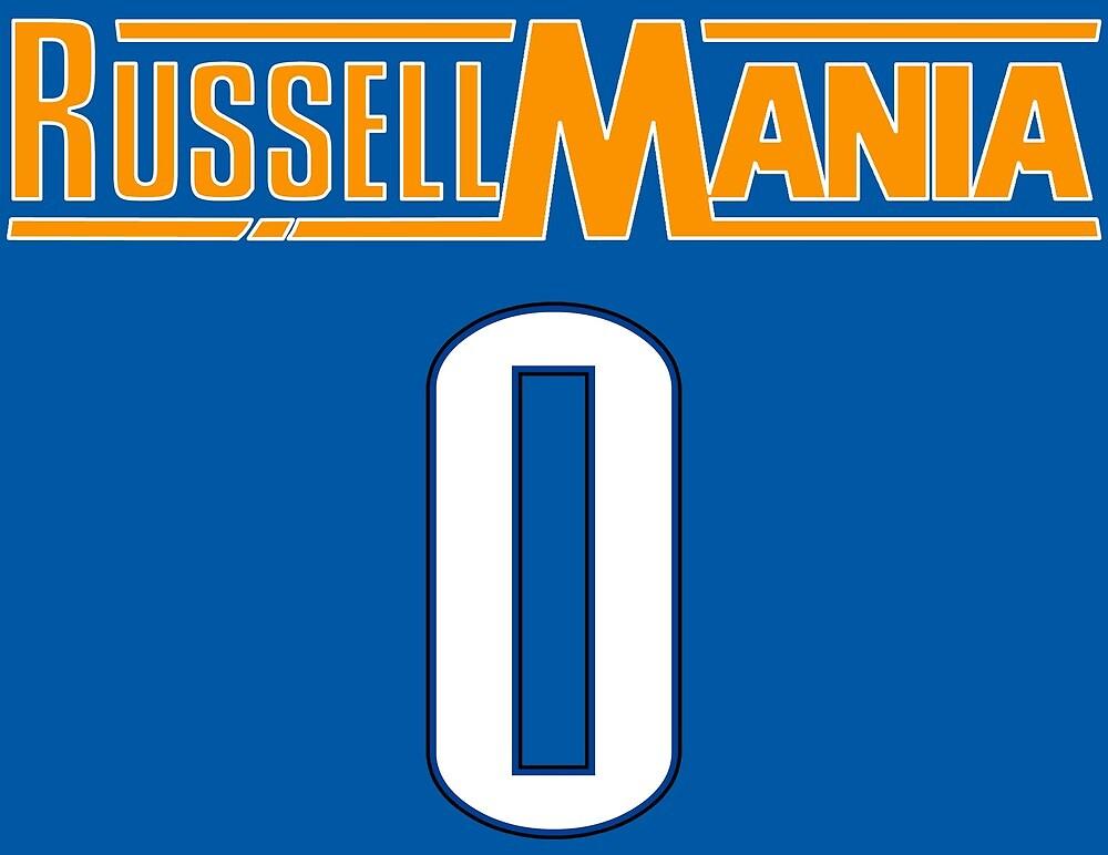Russellmania Westbrook by ballersnba