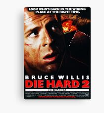 Die Hard 2: Die Harder Canvas Print