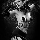 Tattooed burlesque - Calla Lilies II by phantomorchid