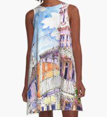 The Salvation Army Palace, Manly, Sydney A-Line Dress