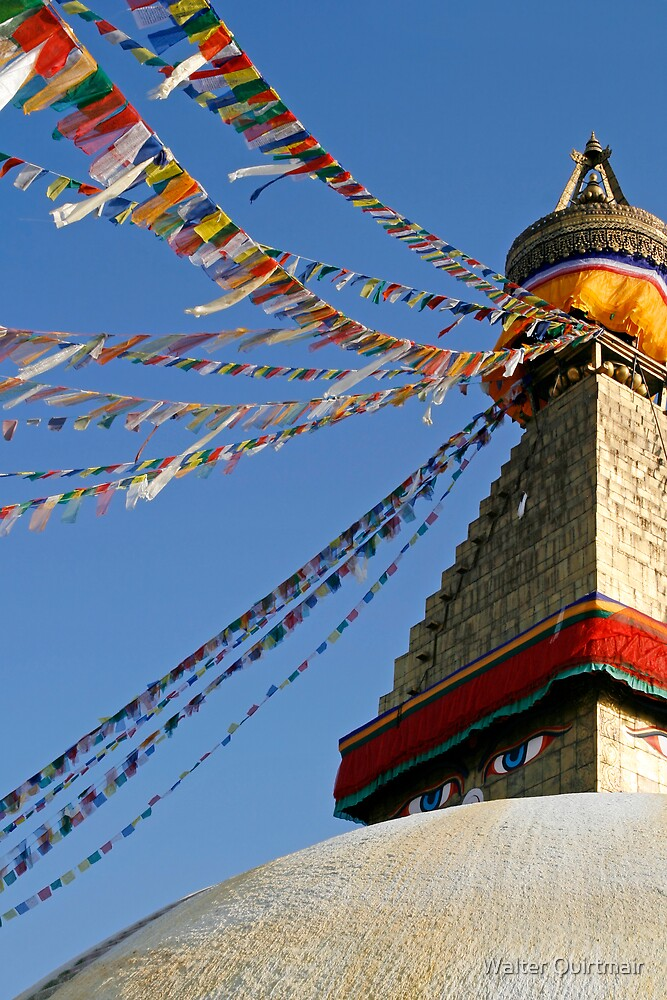 Stupa by Walter Quirtmair