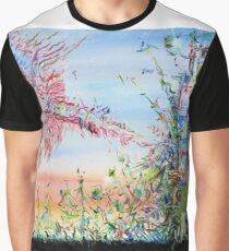 SKY AND EARTH Graphic T-Shirt