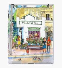 Florist on Pittwater Road, Manly, Sydney iPad Case/Skin
