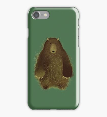 Barnsley the Big Bear. iPhone Case/Skin