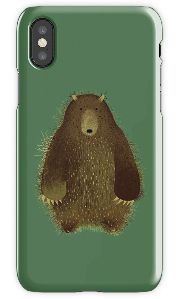 bear iphone case quot barnsley the big quot iphone cases amp covers by amanda 10236