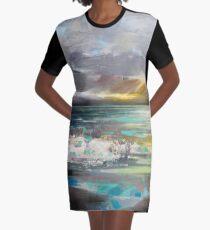 Breaking Graphic T-Shirt Dress