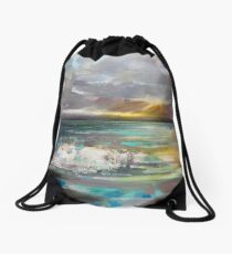 Breaking Drawstring Bag
