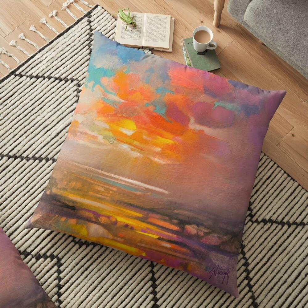 Vivid Light 3 Floor Pillow