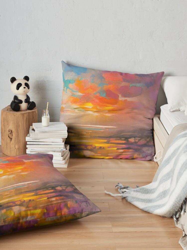 Alternate view of Vivid Light 3 Floor Pillow